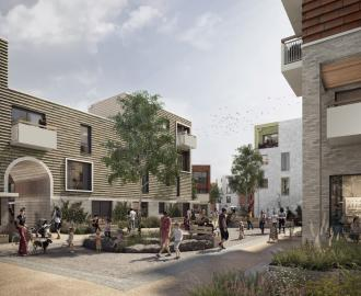 First new housing at the Vaux quarter - part of the Riverside Sunderland Masterplan is submitted for planning
