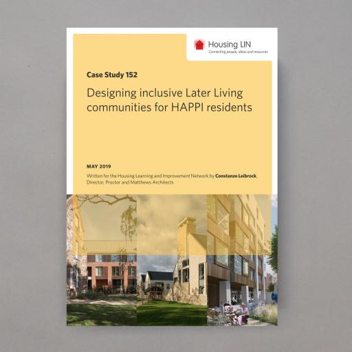 Designing inclusive Later Living communities for HAPPI residents